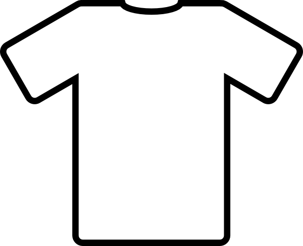 kid drawn soccer jersey white t shirt clip art vector clip art rh pinterest com clipart t shirt free clipart t-shirt black and white