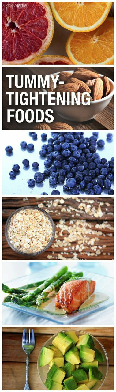 Want a smaller tummy?  Try these food!