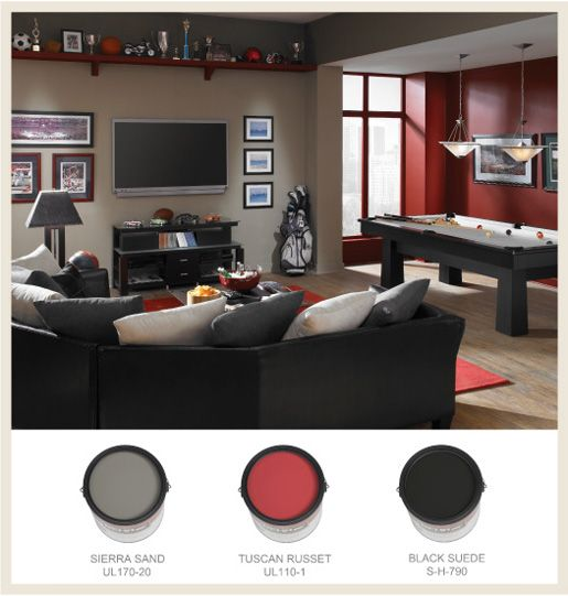 perfect place to hang out with pals man cave colors on basement color palette ideas id=35477