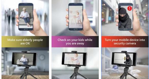 طريقة تحويل هاتف اندرويد او الكمبيوتر إلى كاميرا حماية أمنية لاحاجة لشراء كاميرا مراقبة الطفل مداد الجلي Security Cameras For Home Old Phone Security Camera