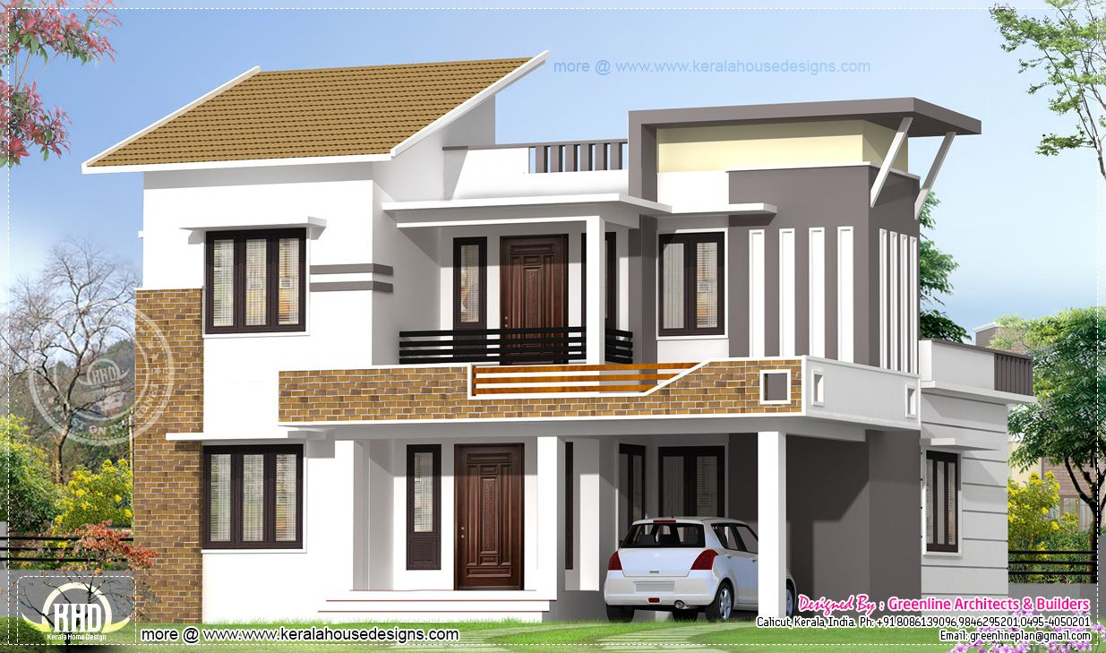house plans design modern exterior house plans square feet ...