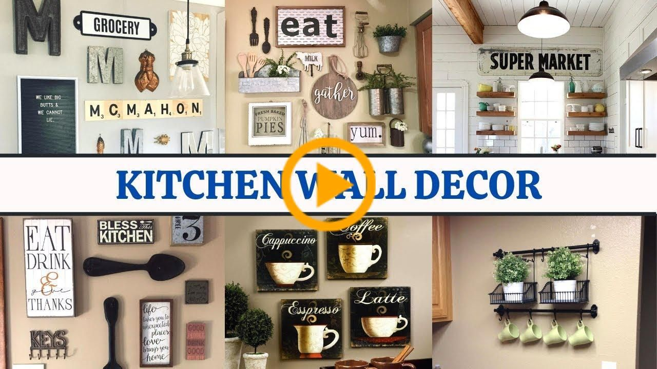 Kitchen Wall Decorating Ideas To Make Your Lovely Easy And Budget Friendly Budgetfriendly Decor Home