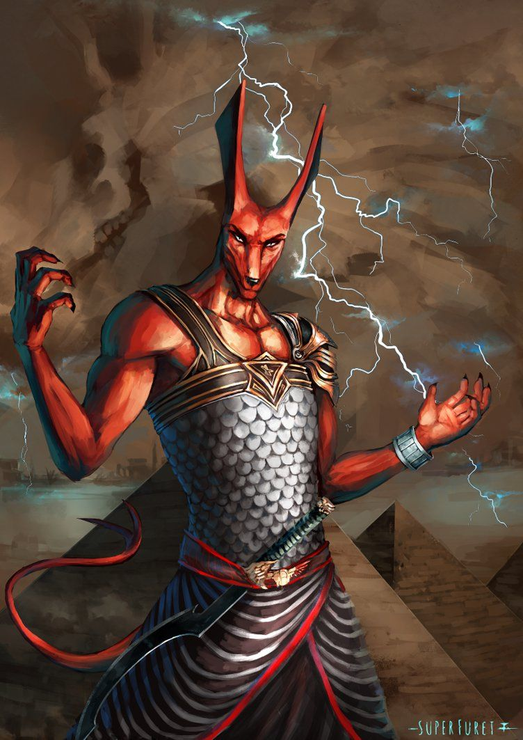 Ancient Egyptian mythology: Seth and his confrontation with the gods
