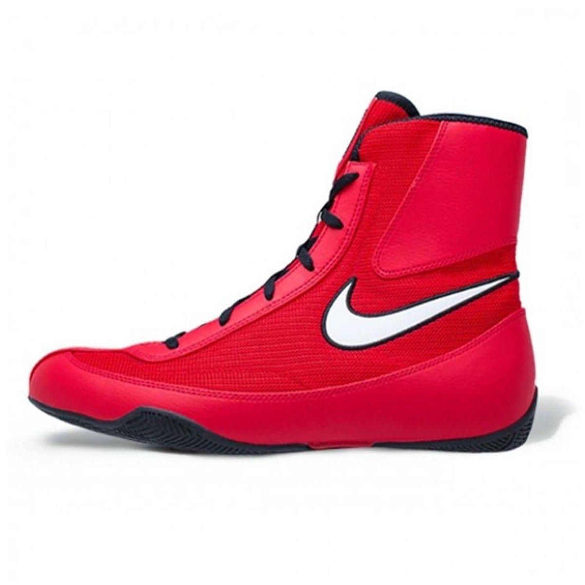 Nike Machomai 2 Boxing Boots Red/White