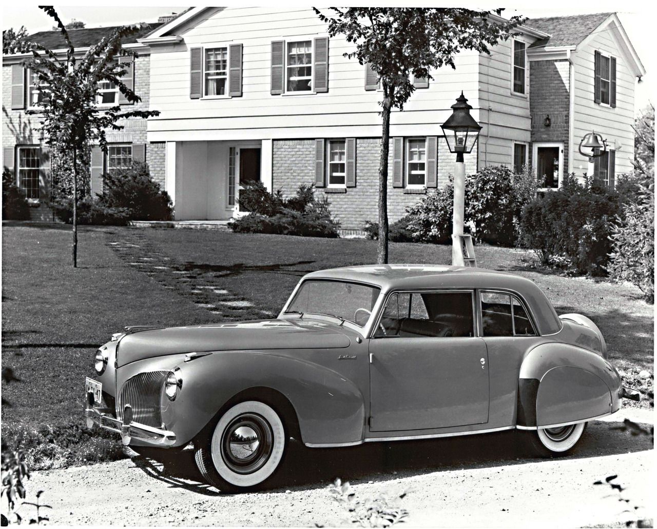 Lincoln Continental Coupe 1941 Chrome My Favorite Color Mercury Eight