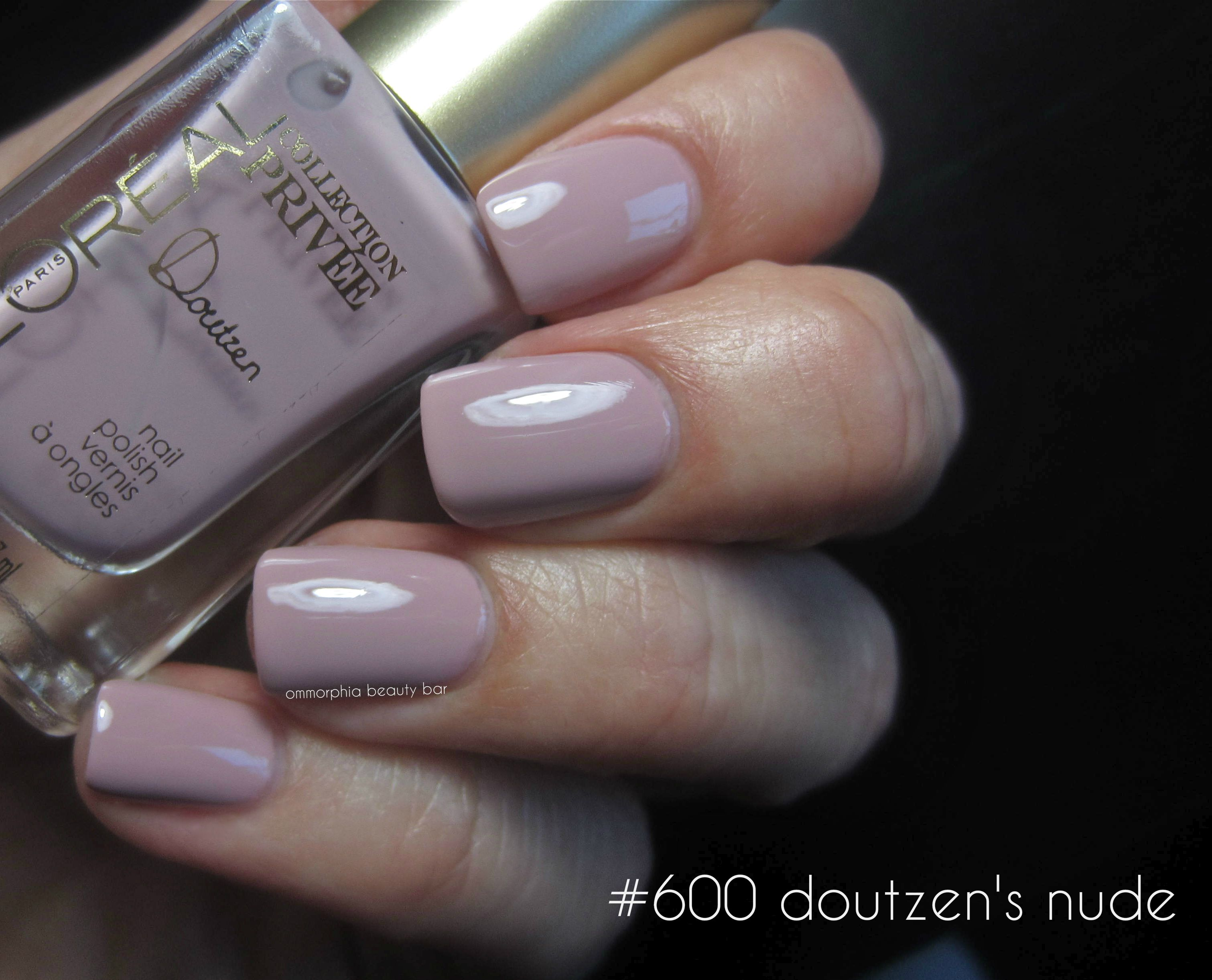L'Oréal #600 Doutzen's Nude swatch | Nail varnish and nails ...
