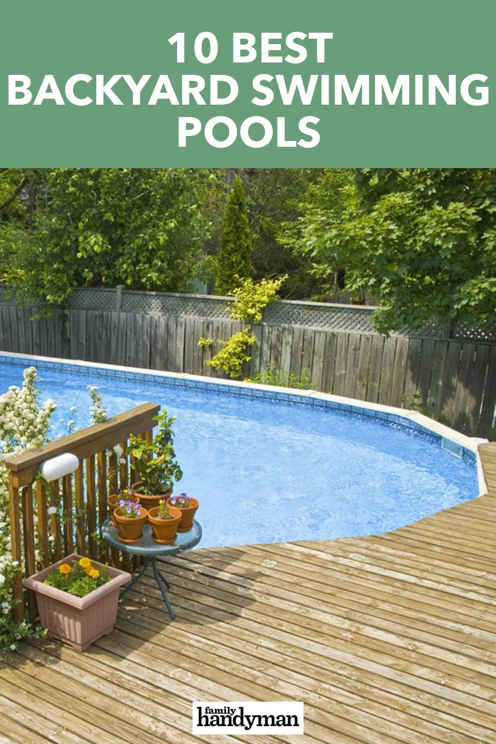 10 Best Backyard Swimming Pools For The Home Swimming Pools Backyard Swimming Pools Backyard