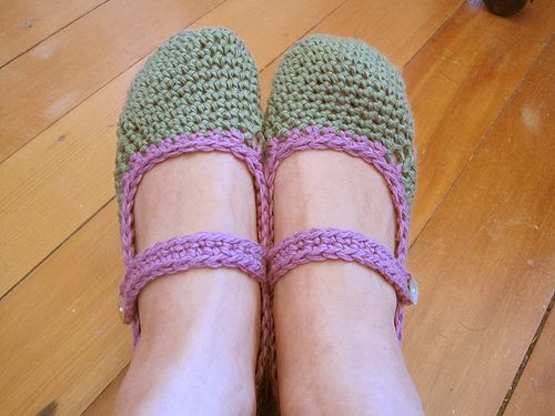 Free Pattern For Crocheted Mary Jane Slippers Mary Janes Mary And
