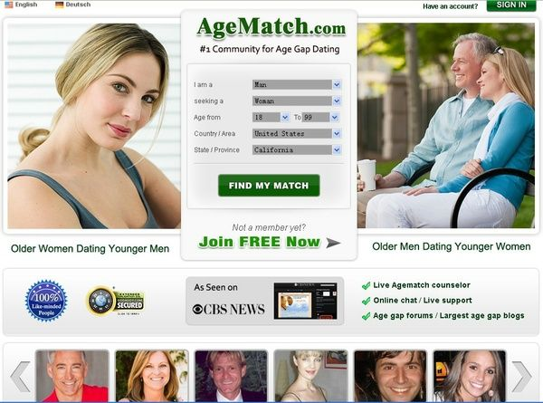 dating site for age gap