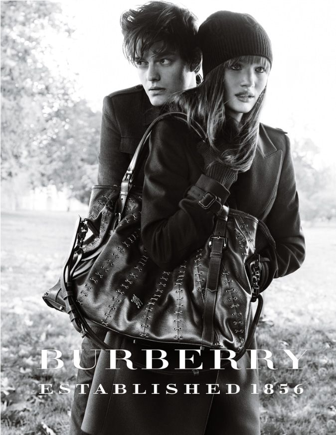 Sam Riley & Rosie Huntington-Whiteley for Burberry | Sam ...