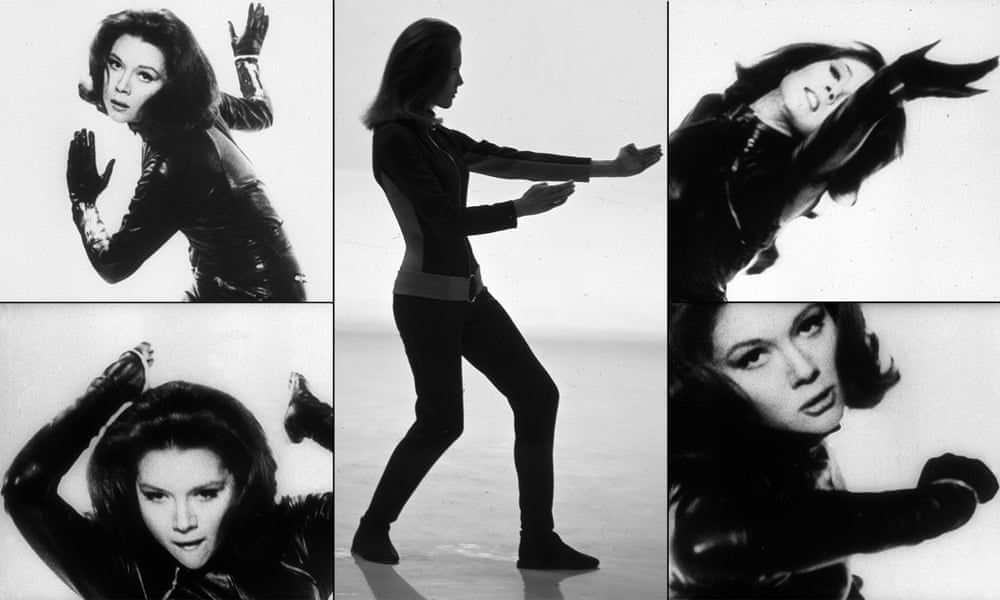 Diana Rigg A Life In Pictures Emma Peel Diana Avengers