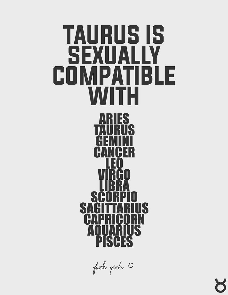 Are taurus and cancer compatible sexually