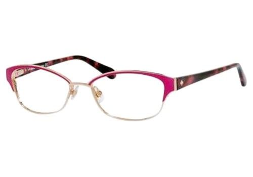 7234505984 Kate Spade Ragan Prescription Glasses Pink FOO Designer Eyeglasses