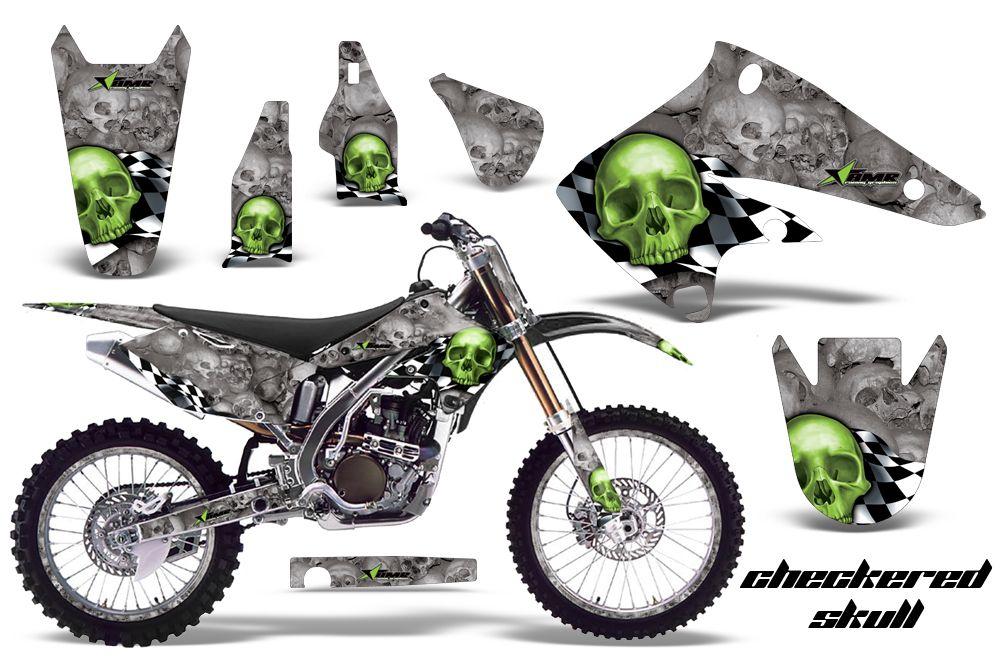 Kawasaki KX250F 2004-2005 Graphics Kit  Over 70 designs