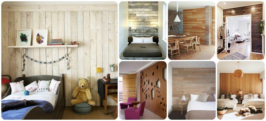 paredes-madera DECORACIÓN - DECORATION Pinterest - paredes de madera