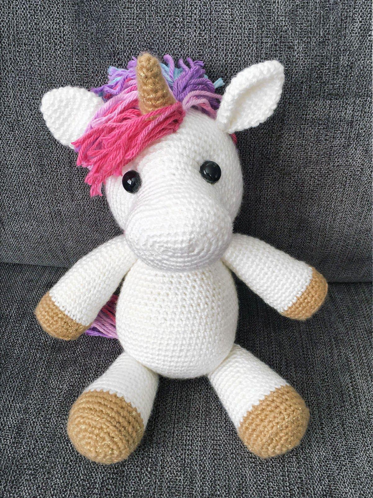 The Most Adorable Unicorn Crochet Patterns | Crochet: Amigurumi ...