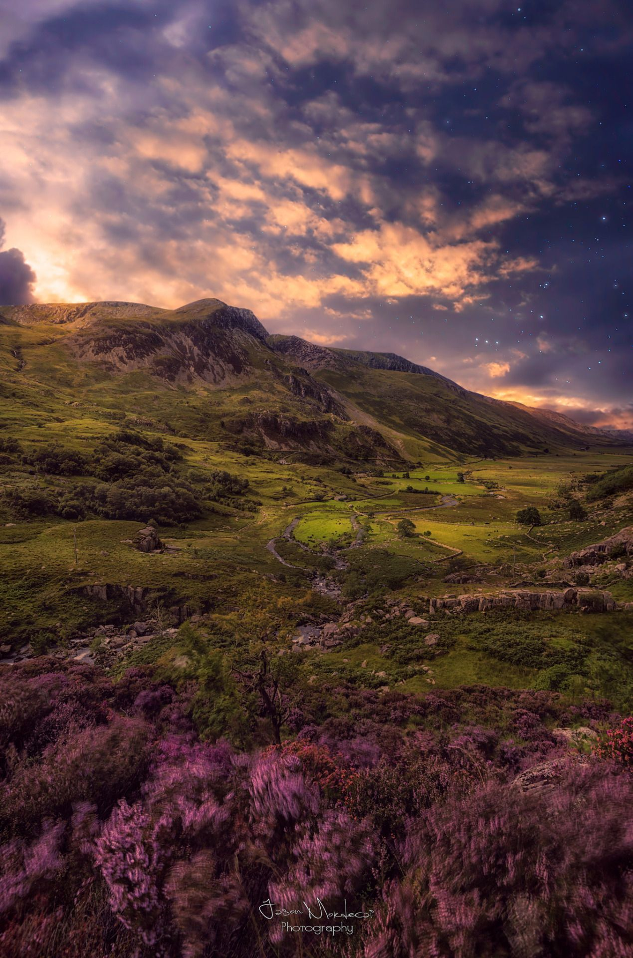 Out of This World. Ethereal Valley by Jason Mordecai