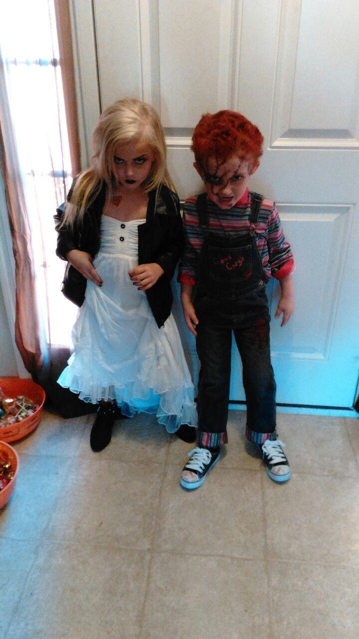 Chucky and Bride of Chucky costume diy Bride of chucky