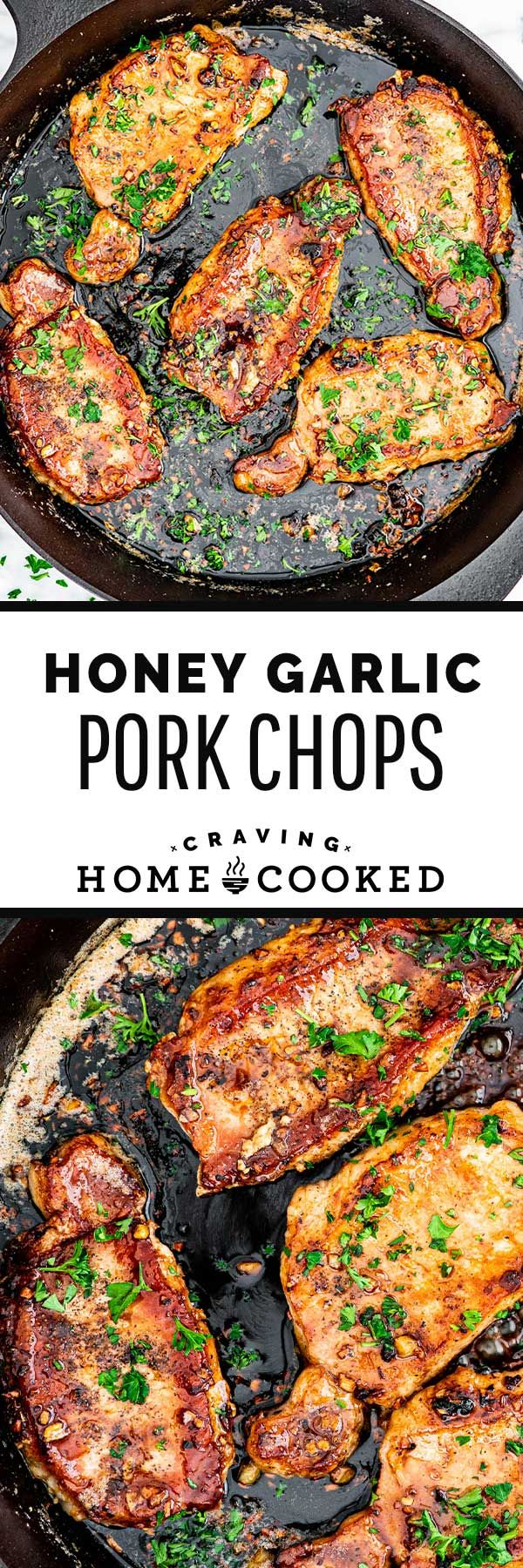 Honey Garlic Pork Chopsare about to become your new favorite weeknight meal. Sweet, savory, and p