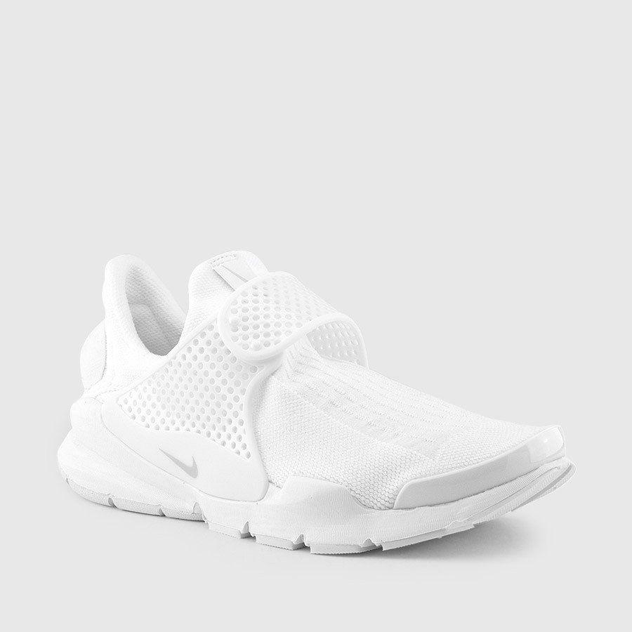 promo code 7215e 4adba Nike - Women s Sock Dart (White   Pure Platinum) Front