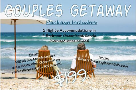 Couples Getaway Package - Spa and Golf Available October ...