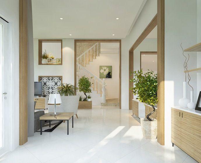 Interior Design Light Color Design White Floor Design