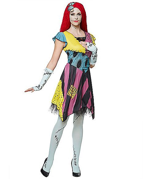 61cd41617a7 Adult Sassy Sally Costume - The Nightmare Before Christmas ...