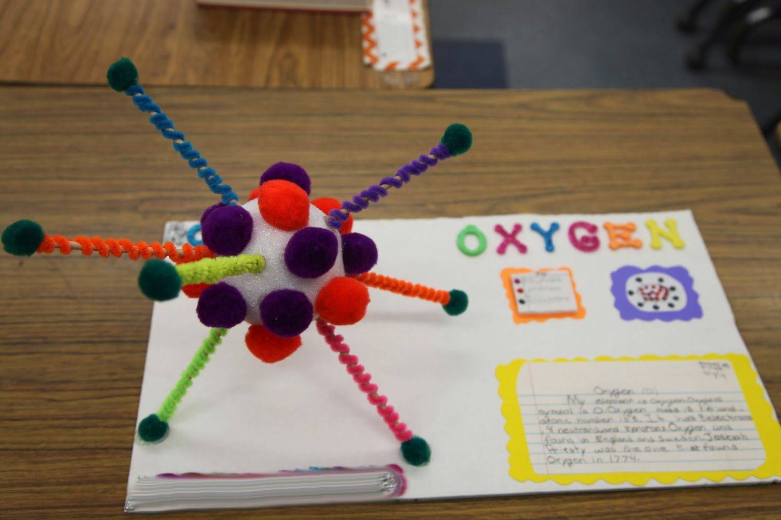 3d Atom Projects From 5th Graders