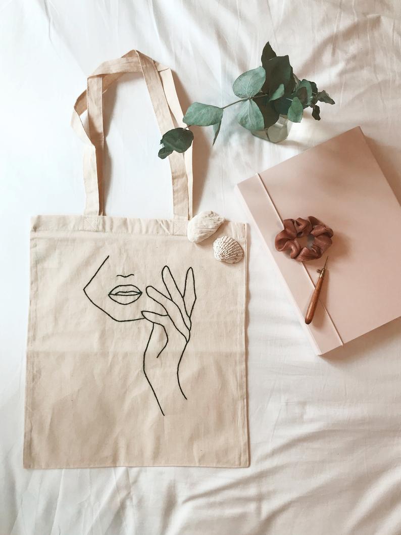 Minimalist Canvas Handbag
