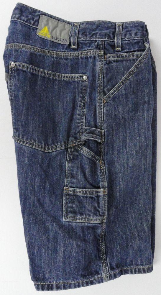 ad4259fe Levi's SilverTab Carpenter Jean Shorts Size 36