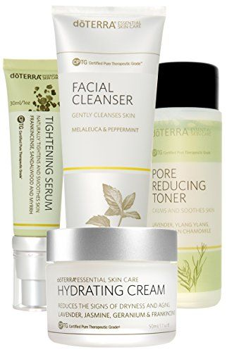 Doterra Skin Care System With Hydrating Cream Essential Skin Care Collection For More Informat Skin Care Essentials Skin Care Collection Skin Care System