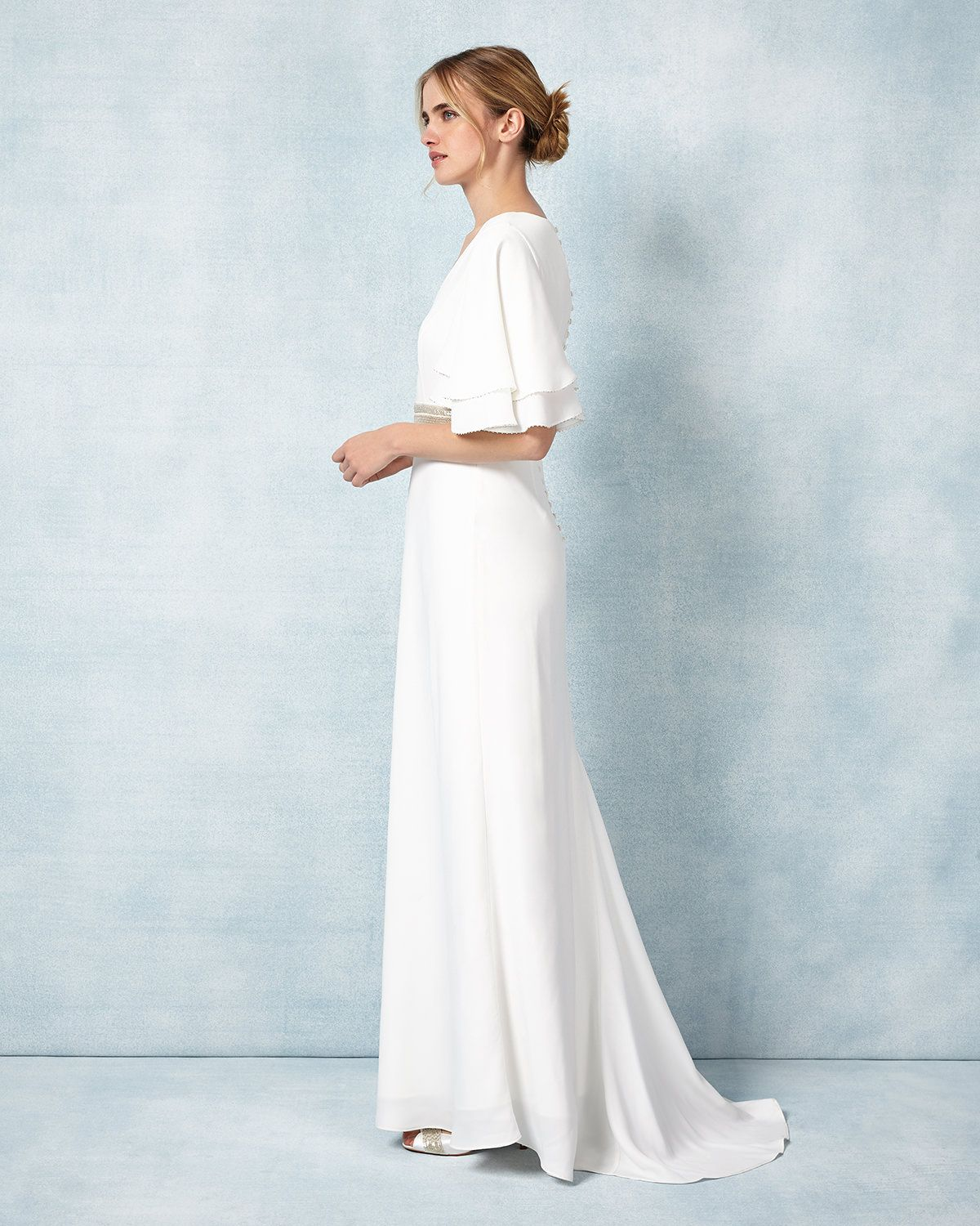 Phase Eight Chelsie Wedding Dress Cream. Pinned by Amy of www ...