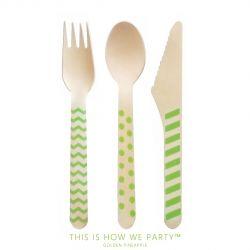 パーティーグッズの通販なら Golden Pineapple Tableware Spoon Spork