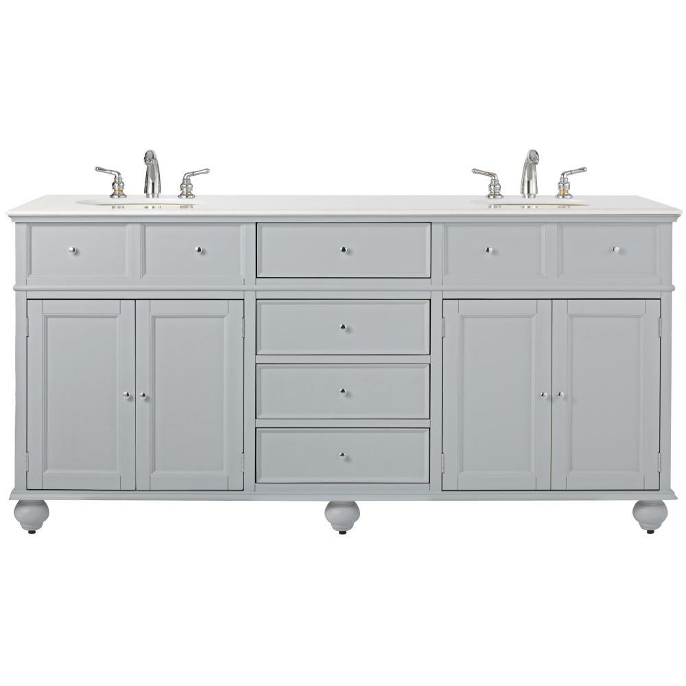 Home Decorators Collection Hampton Harbor 72 In W X 22 In D