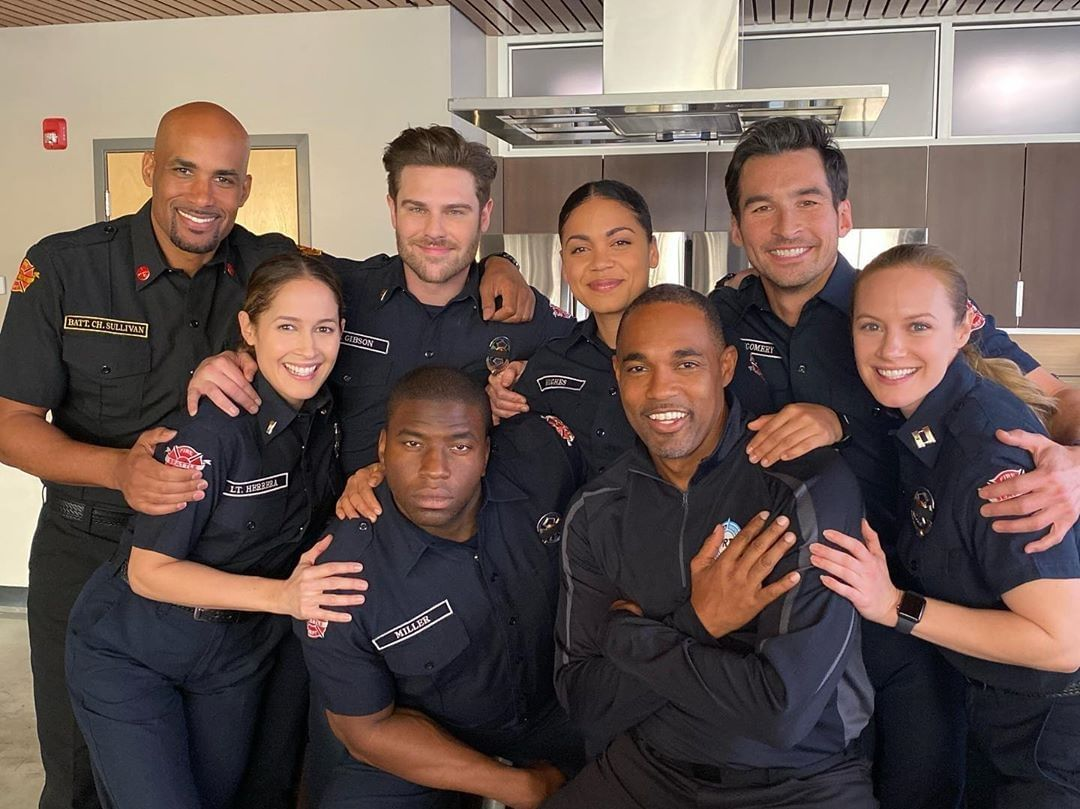 Shondaland Tv On Instagram My Sweet Station19 Family From Jainaleeortiz S Ig Takeover Earlier This Season Station Firefighter Shows Greys Anatomy