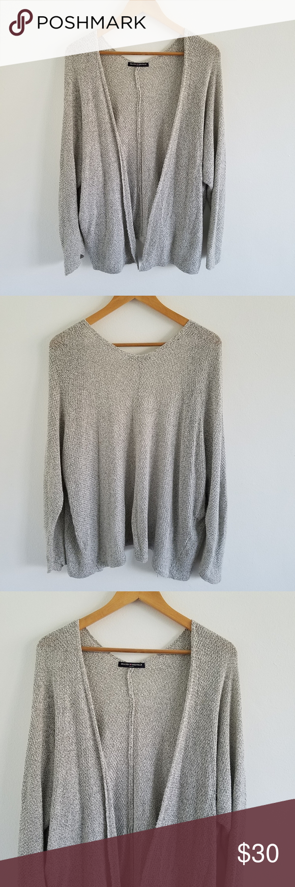 Brandy Melville Open Front Oversized Sweater Sweaters Oversized Oversized Sweater Cardigan Sweaters For Women
