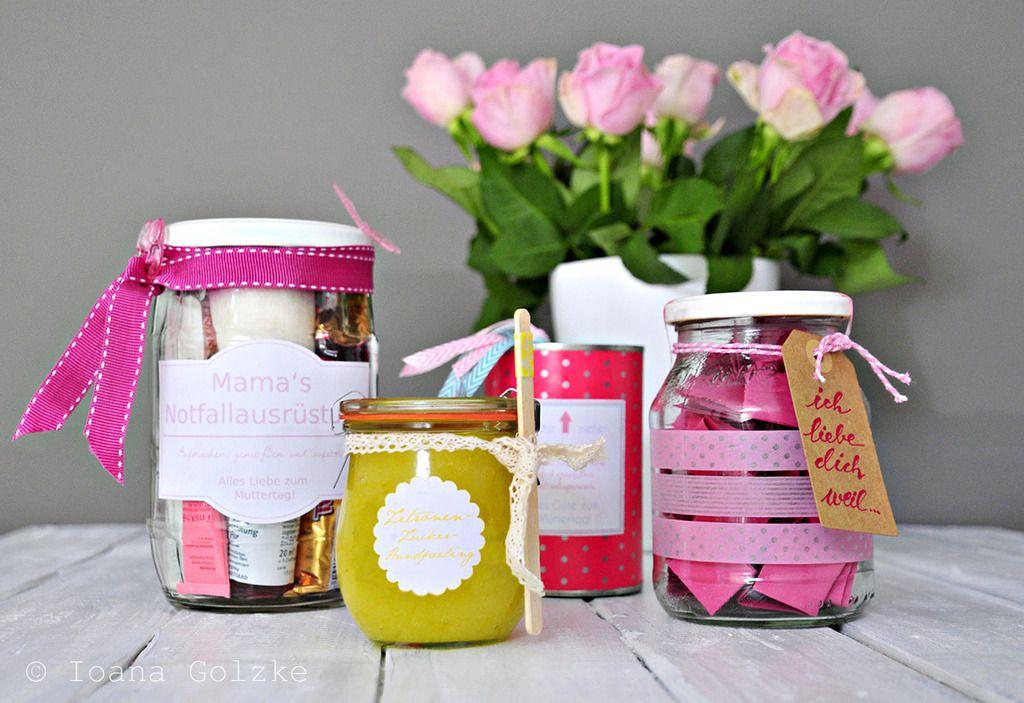 Geschenke Zum Muttertag Selber Machen : vier geschenke zum muttertag freebies diy muttertag ~ Watch28wear.com Haus und Dekorationen