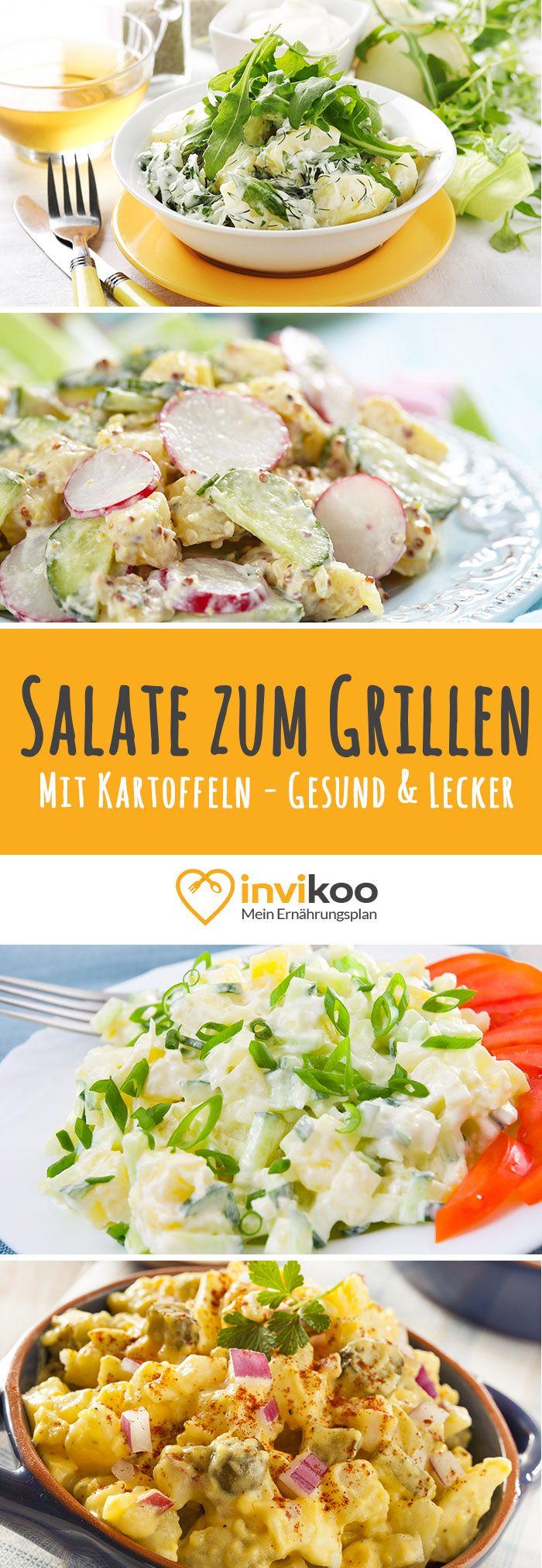 Kartoffelsalate zum Grillen - Die Grillsaison ist eröffnet. Kartoffelsalat Rezepte zum Abnehmen - ei