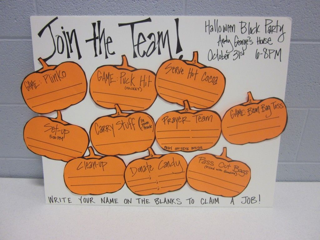 halloween and fall party ideas for church and home | growing kids