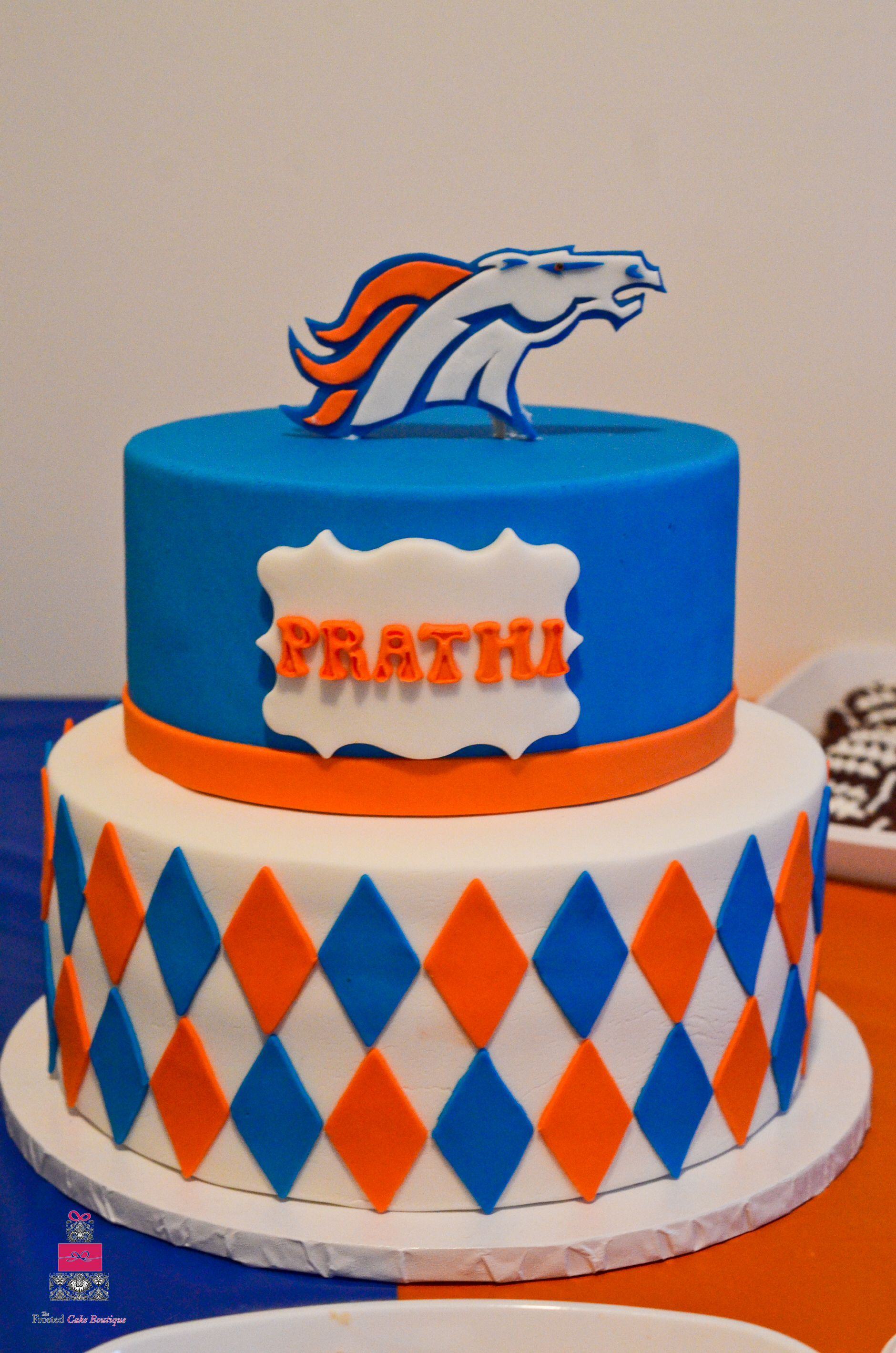 Denver Broncos Birthday Cake Cake Pinterest Birthday Cakes