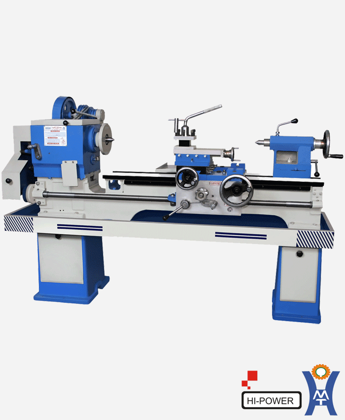 Hi Power Medium Duty Lathe Machine 4 5 Feet Bed Length