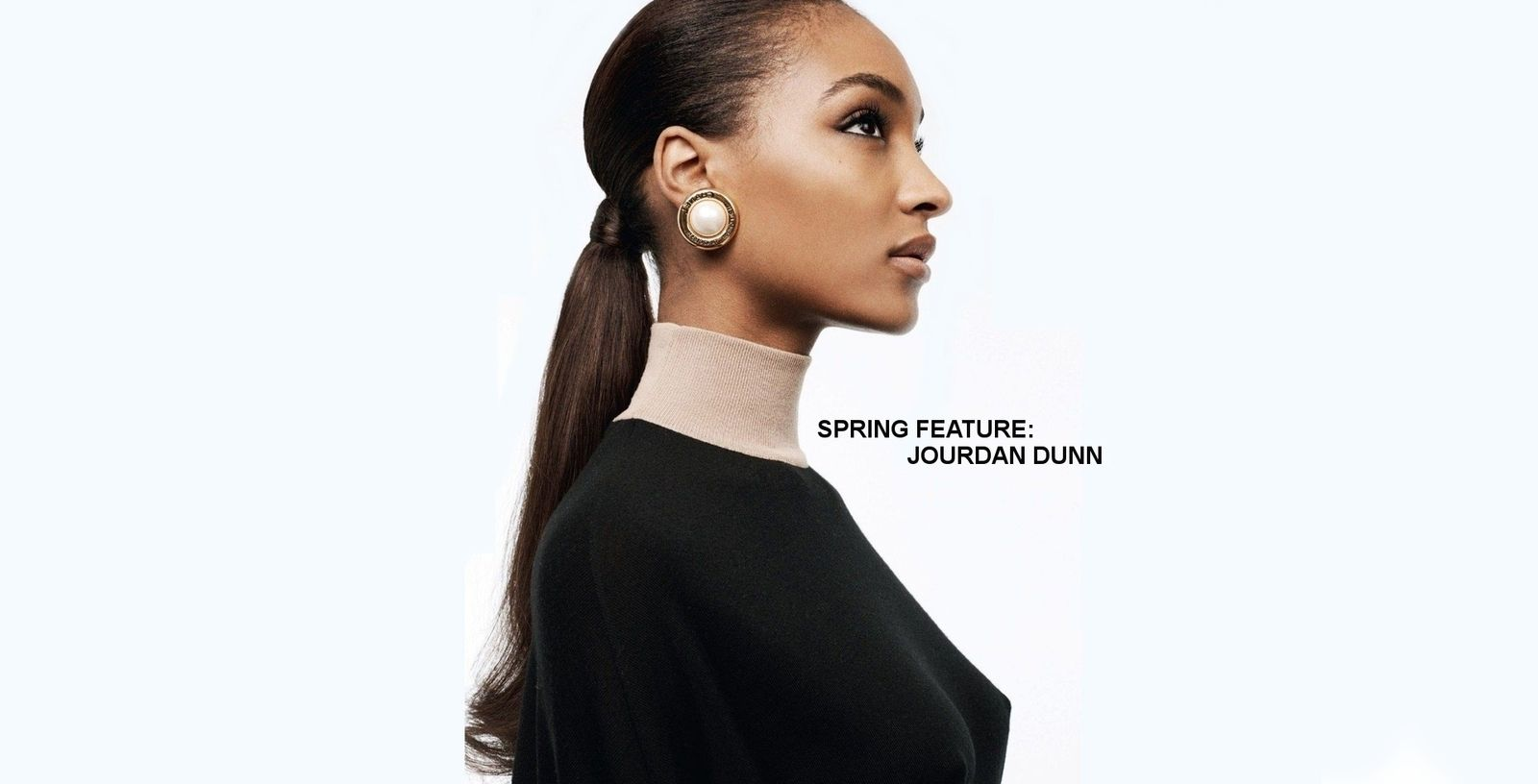 Spring Feature | Jourdan Dunn| Shopaholica.net #ReadNowOnline @ShopShopaholica #SpringFashion #ShopTrends