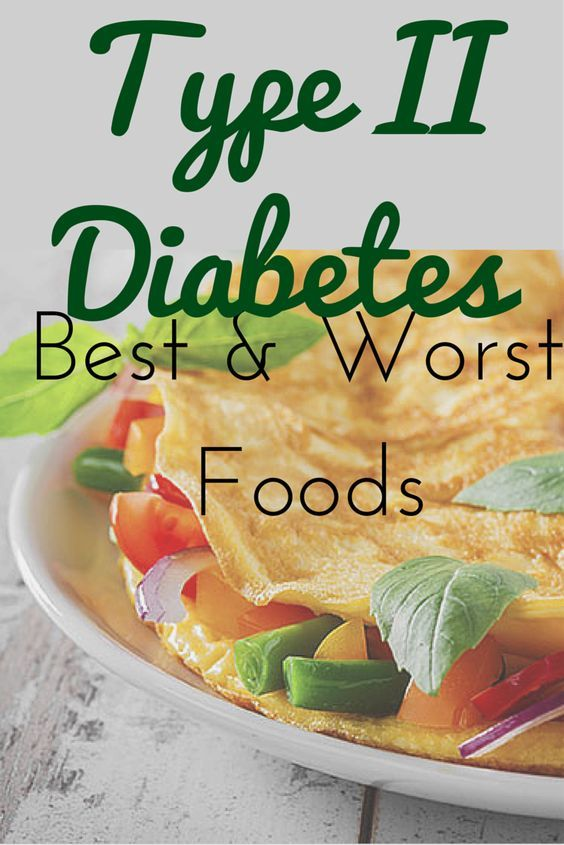 The Best And Worst Foods To Eat In A Type 2 Diabetes Diet Keto