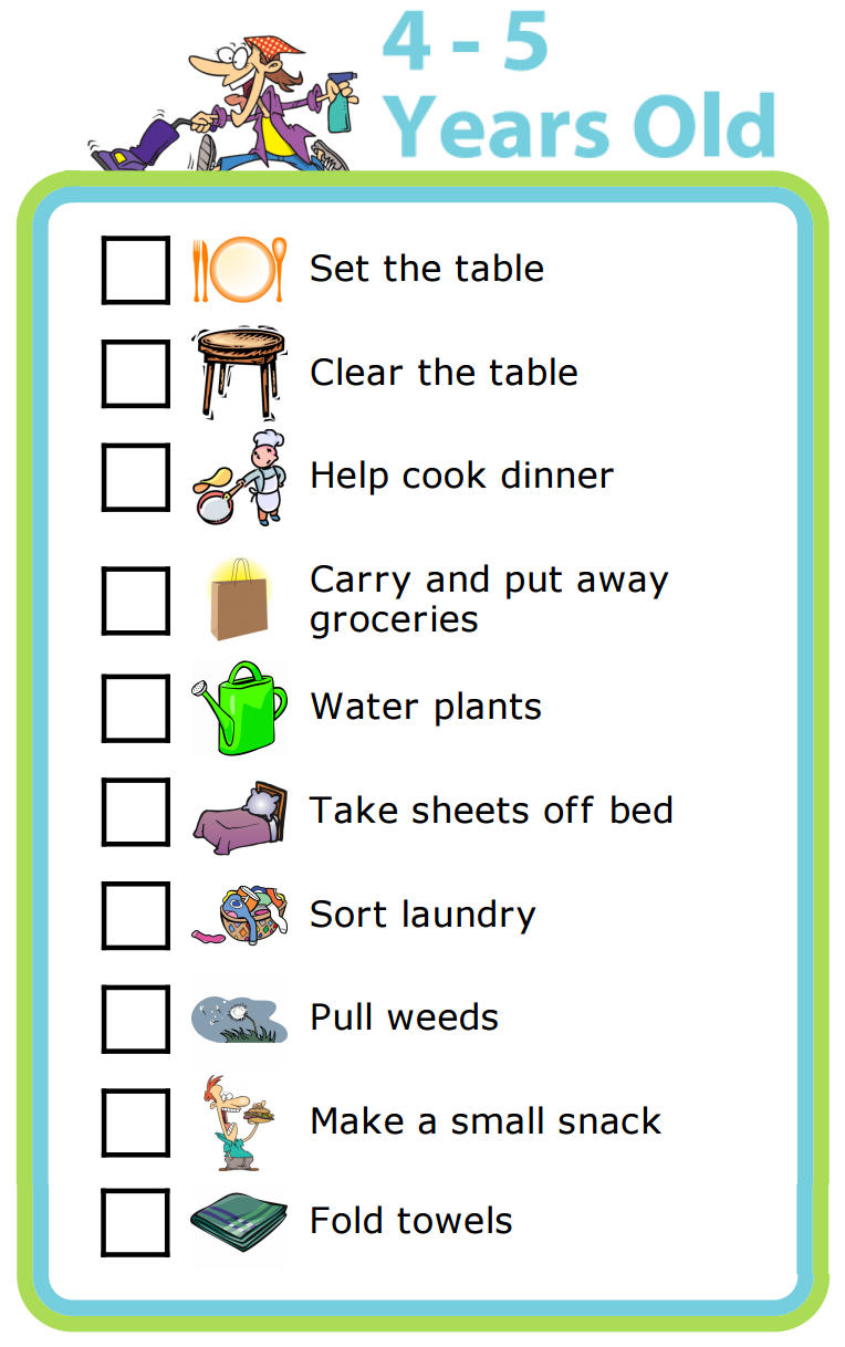 Make Your Own Chore Chart PLUS lots of other printable activities ...
