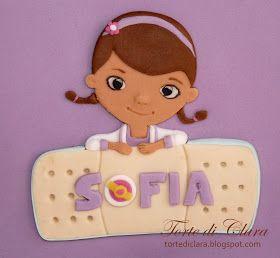 Torte di Clara: Dottoressa Peluche Doc McStuffin decorated cake