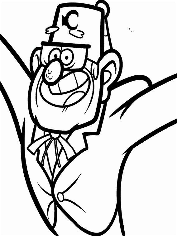Gravity Falls Coloring Pages 16 Coloring Pages Gravity Falls Fall Printables