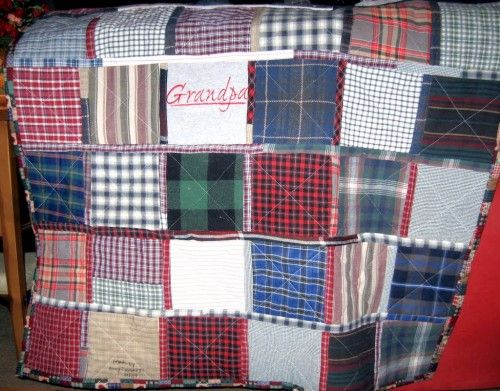 clothing made with sweatshirts | clothing memory quilt from baby ... : memorial quilt ideas - Adamdwight.com