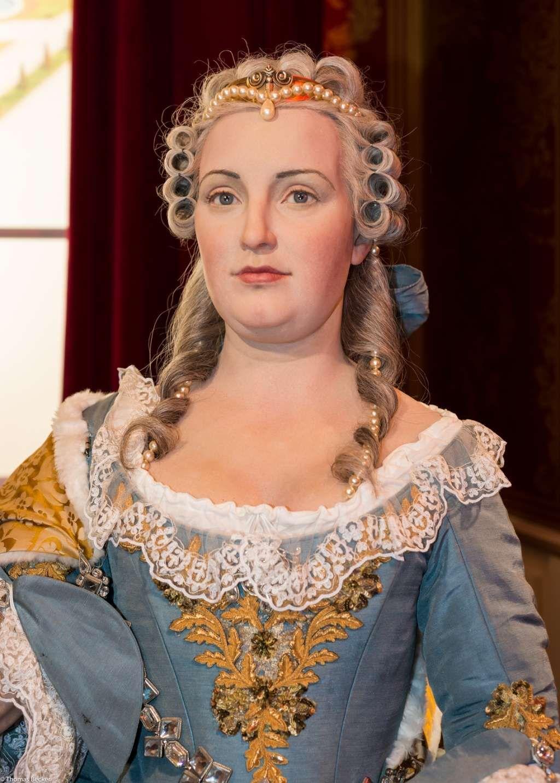 représentation en cire de  Marie-Thérèse :