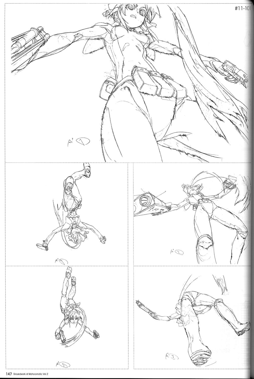 genga mahoromatic yoh_yoshinari Animation storyboard