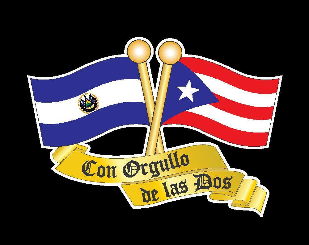 Puerto Rico El Salvador Flag Car Decal Sticker 273el Ebay Car Decals Stickers El Salvador Flag European Flags [ 795 x 1000 Pixel ]